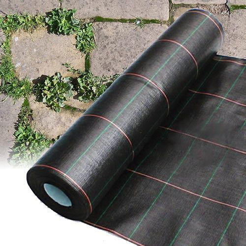 1M X 10M HEAVY DUTY WOVEN WEED CONTROL GROUND MULCH LANDSCAPE FABRIC - 8.99 GBP - 1M X 10M Heavy Duty Woven Weed Control Ground Mulch