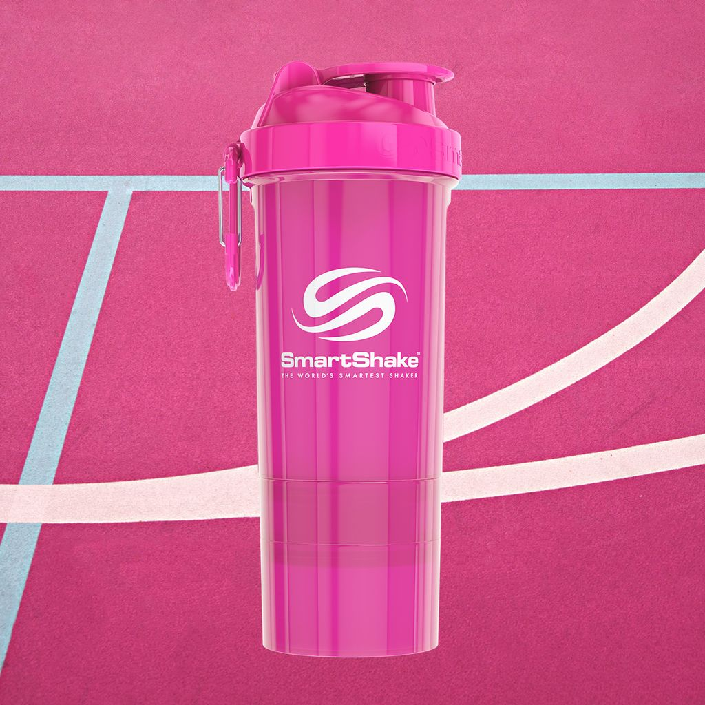 Staying hydrated and energized is half the game. Making bad-ass slam dunks is the other half #LookSmart #Pink #SmartShake #Shaker