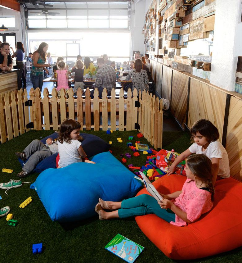 Restaurants Where Kids Can Play