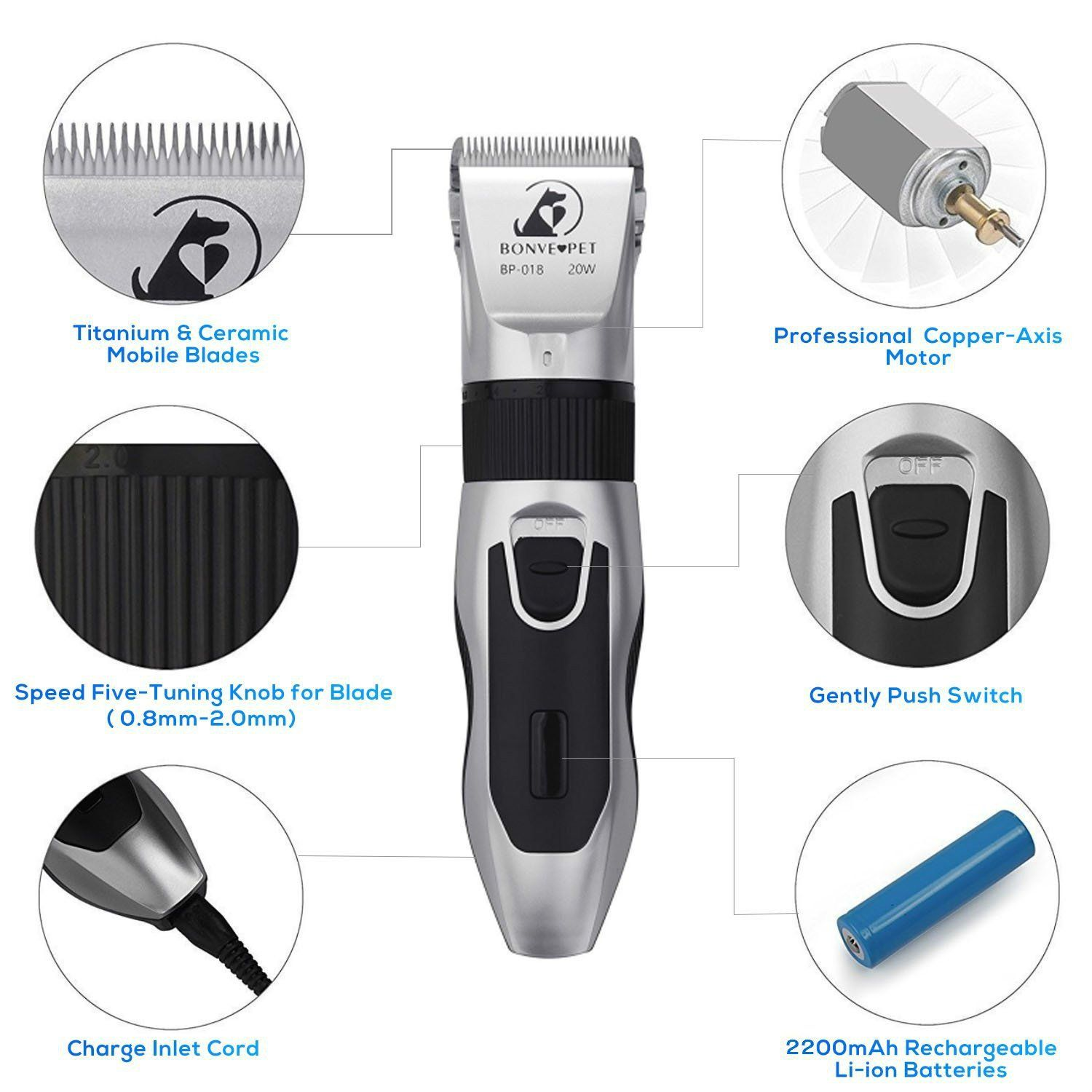 Top 5 Best Dog Clippers for Grooming [2020 Reviews] Dog