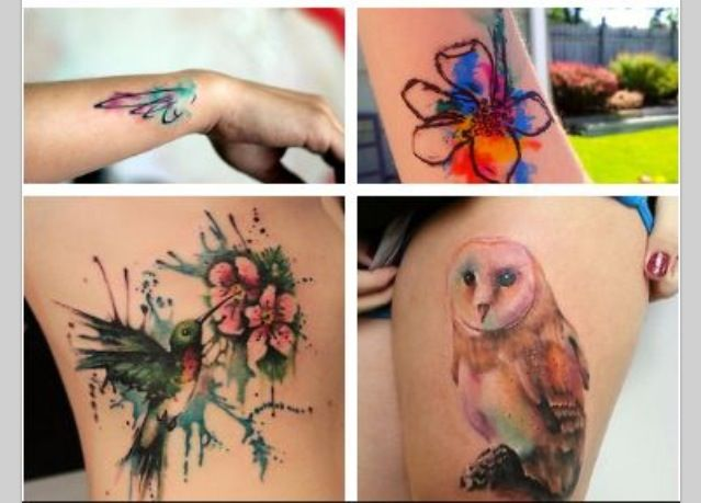 Cool tattoos!
