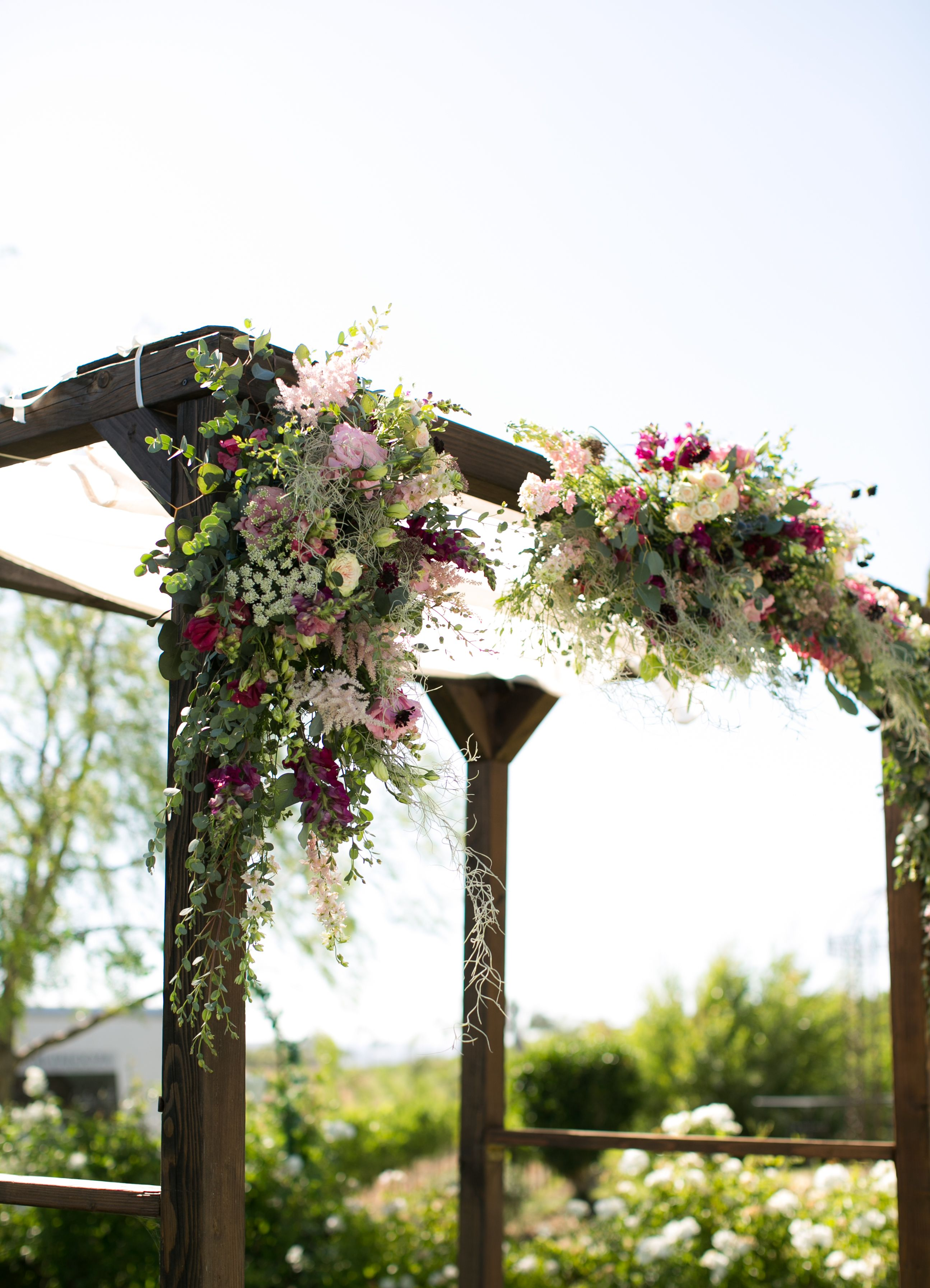 Wedding Arch Jewish Chuppah Coordinated Events By Ari Photo Jeff Thomas Vertexphotography Location Setup Falkner Chuppah Wine Country Wedding Wedding Arch