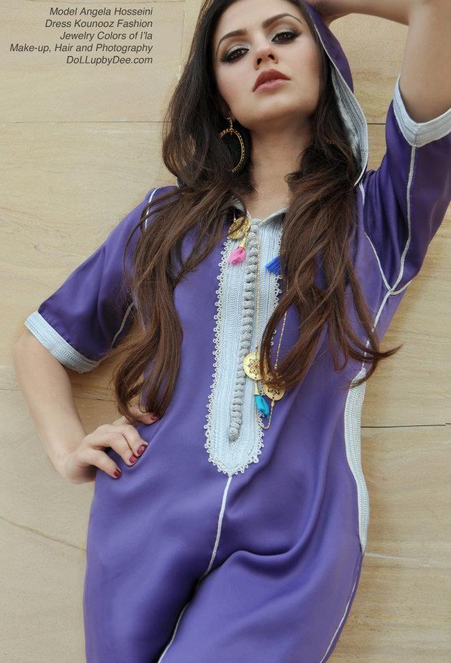 جلابيات مغربية بسيطة من تصاميم سلمى بنعمر Selma Design جلابيات مغربية Marokkanische Mode Modestil Marokkanisches Kleid