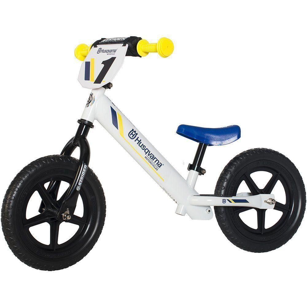 Strider Husqvarna Toddler 12 Sport Balance Bike