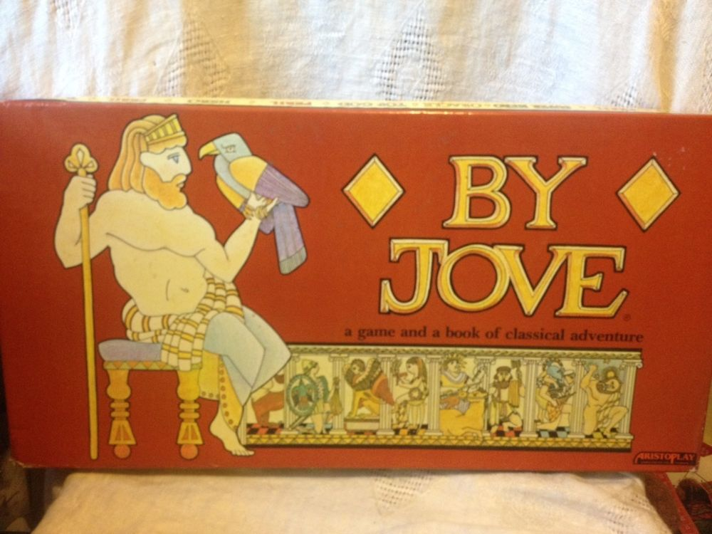 by jove classic mythology board game aristoplay 1983 new #Aristoplay