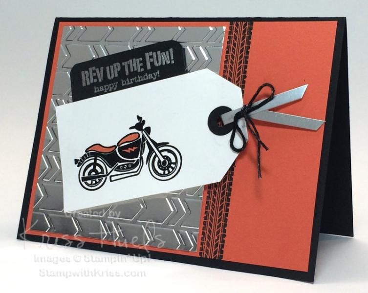 Suo Harley Birthday With Rev Up The Fun By Krissiestamps Cards And
