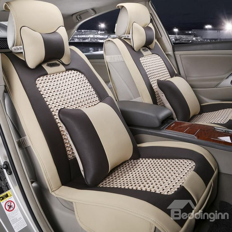 New Arrival High Quality Classic Beige Seat Covers