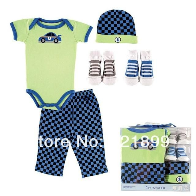 Newborn Baby Clothing Set Summer Baby Girl And Boy Layette Box Set