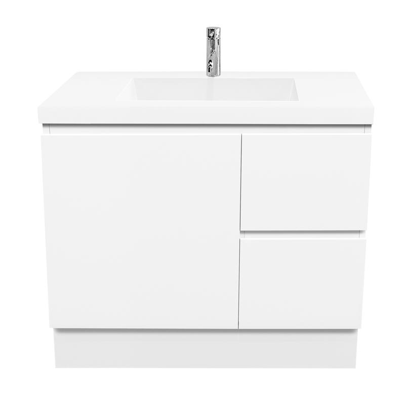 Cibo Design 900mm Function Slimline Floor Vanity Vanity Bunnings Bathroom Bathroom Plumbing