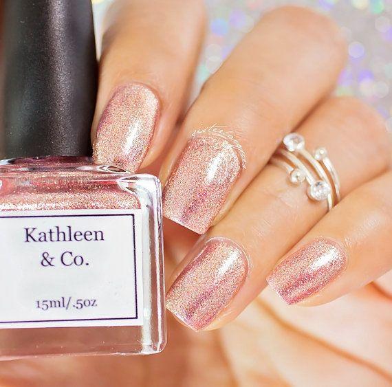 Cavador del oro rosa oro rosa esmalte de por kathleenandcopolish ...