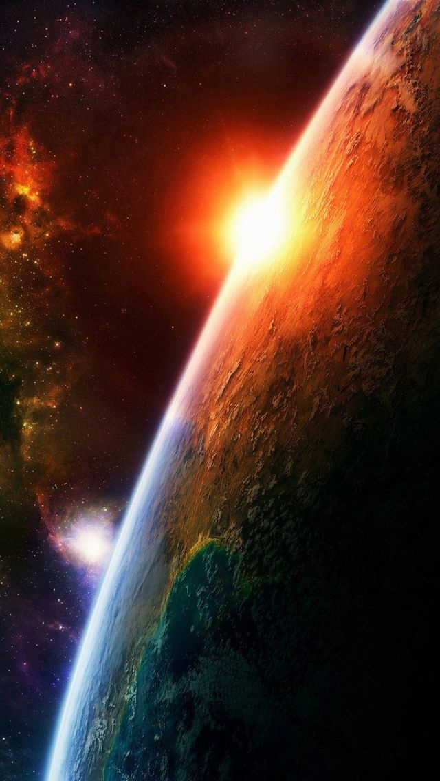 IPhone 5 Wallpaper Space 04