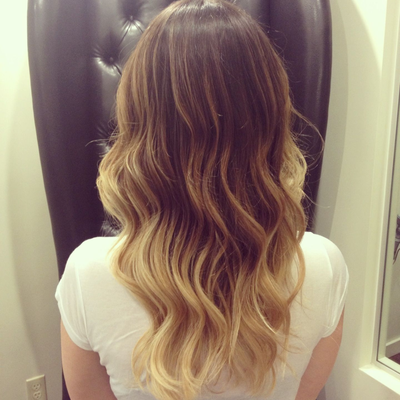 Ballayage Blond dedans ballayage . balayage hair. new highlighting technique | health and