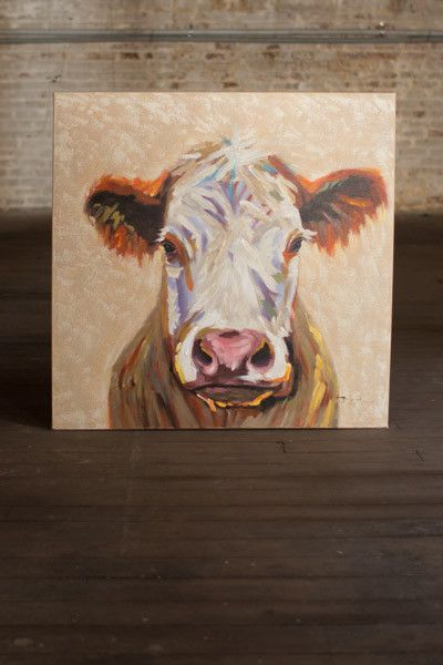 Oil Painting - Cow