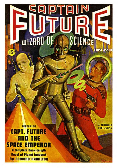 Captain Future, Wizard of Science | Flickr - Photo Sharing!