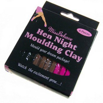 Hen Night Moulding Clay Plasticine Bachelorette Party
