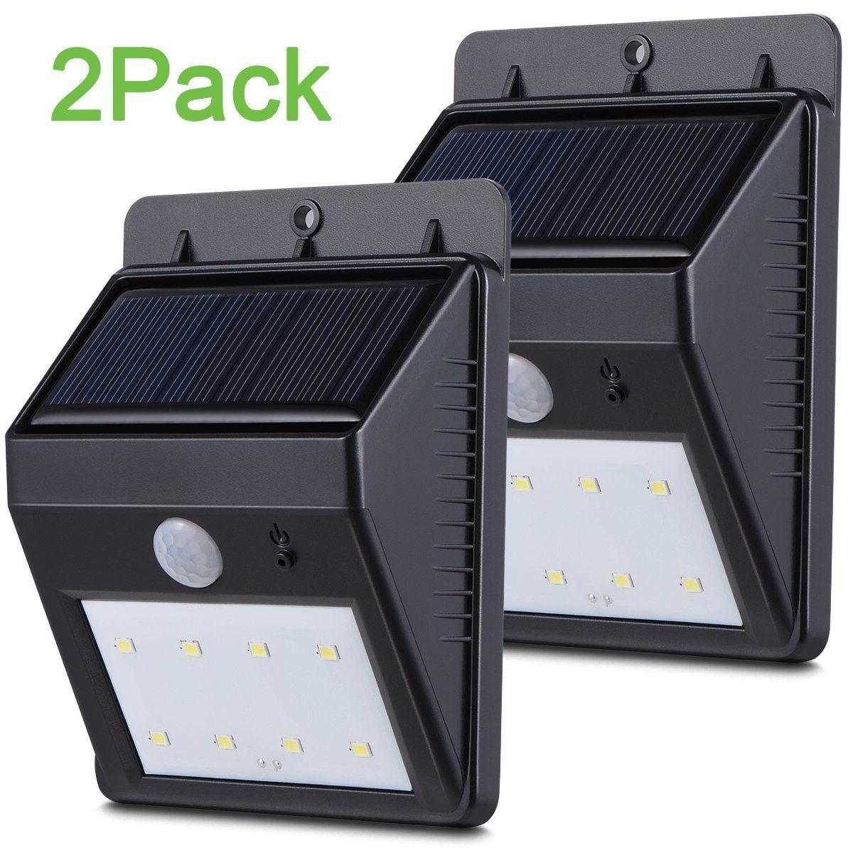 Bright Outdoor Solar Lights Boomile Super Bright Outside Waterproof Motion Sensor Lights Led