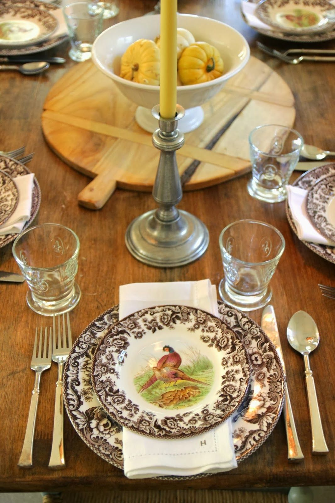 Tablescape Festive Fall With Images