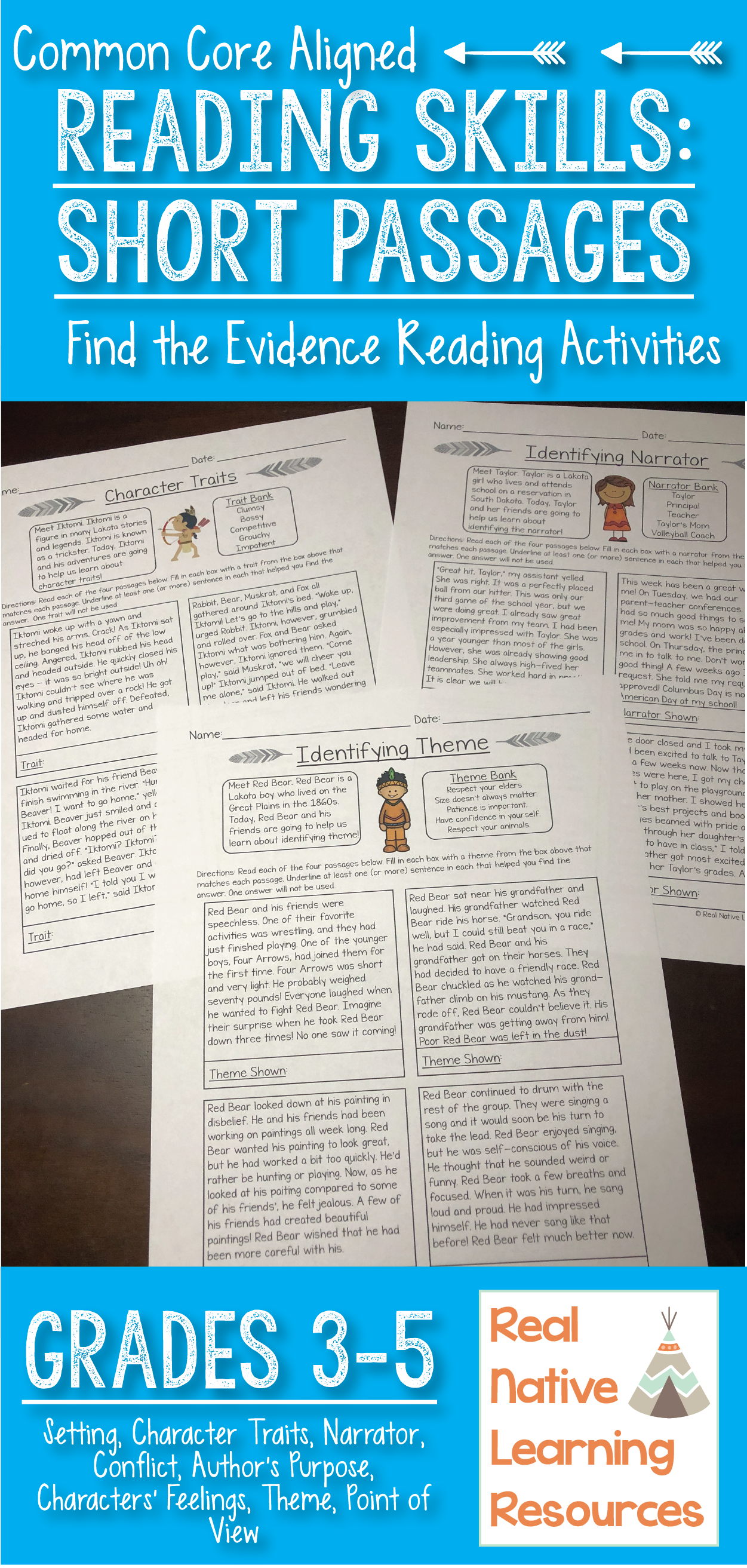 Identify And Show Evidence Reading Passages