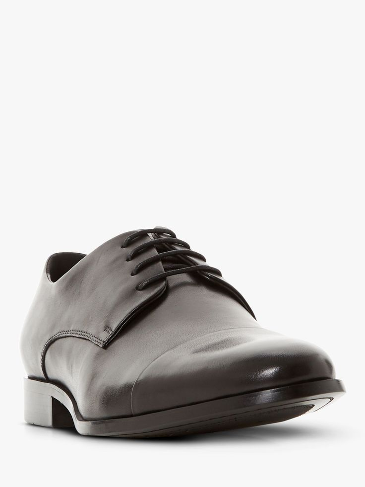 Dune Shea Leather Oxford Shoes Black Dune Shea Leather Oxford Shoes Black