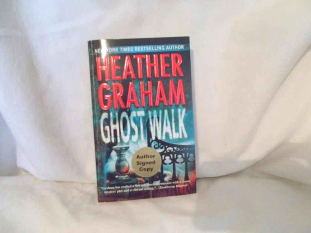 Ghost Walk by Heather Graham Paperback Book Signed