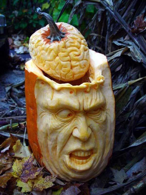 Creative Mind Blowing Halloween Pumpkins Smashcave Holidays - Mind blowing pumpkin carvings by ray villafane 2
