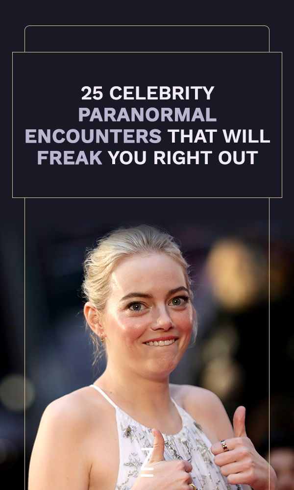 Celebrity Paranormal Encounters That Will Freak You Out