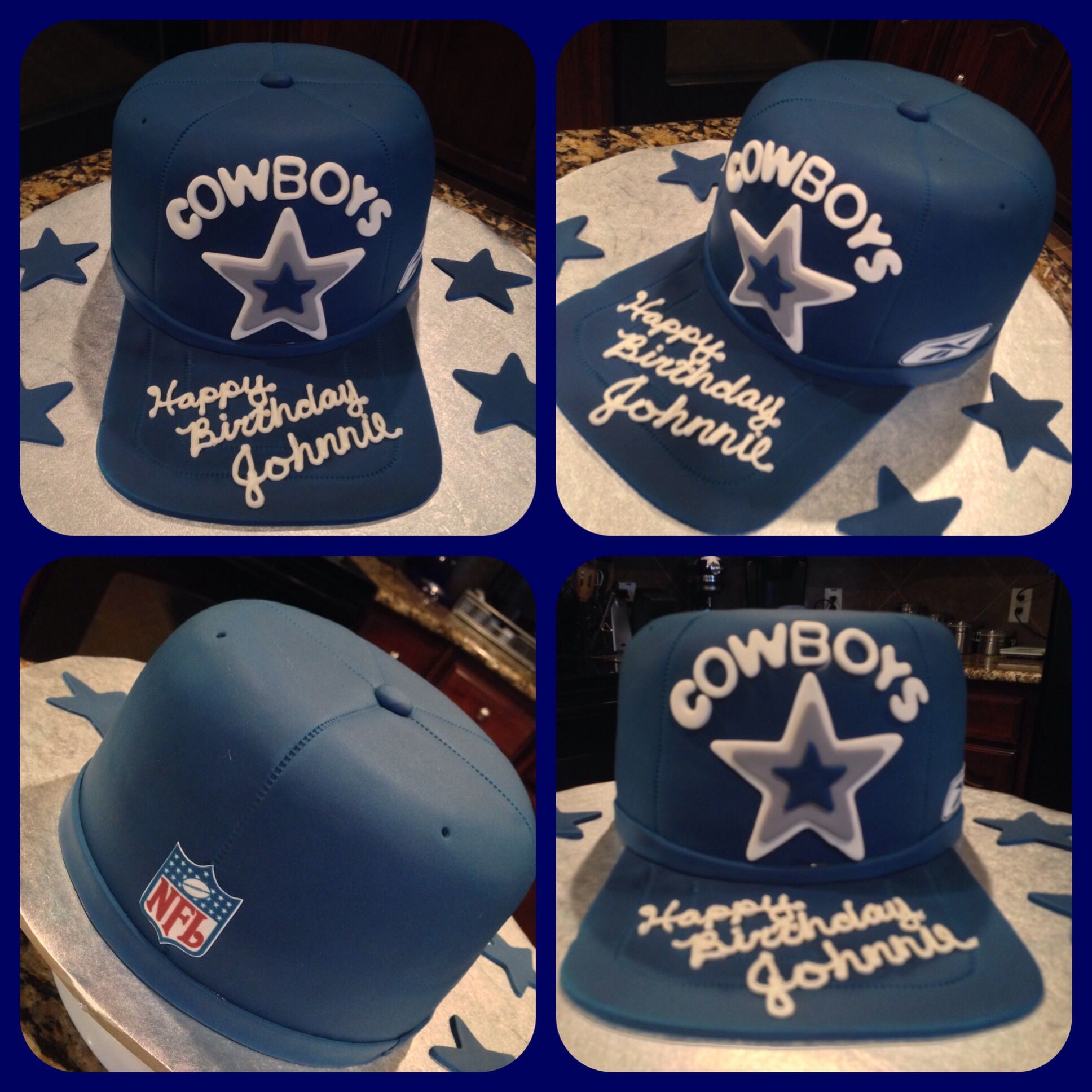 Dallas Cowboys baseball cap! #GO COWBOYS!!! | Custom Cakes by Cake ...