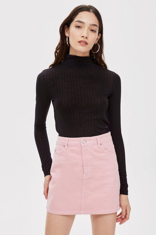 6050199e6 Sugar Pink Denim Skirt in 2019 | JTA | Pink denim skirt, Denim skirt ...