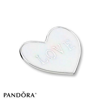 318e3e516 PANDORA Plate Medium Love Heart Sterling Silver | PANDORA PIECES ...
