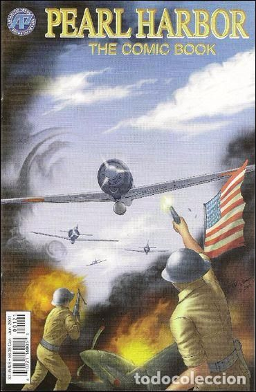PEARL HARBOR: THE COMIC BOOK, SERIE LIMITADA COMPLETA DE DOS NÚMEROS, ANTARTIC PRESS, 2.001, USA