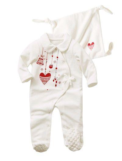163af9248ae75 Pyjama velours bébé fille et son doudou BLANC CASSE - vertbaudet enfant