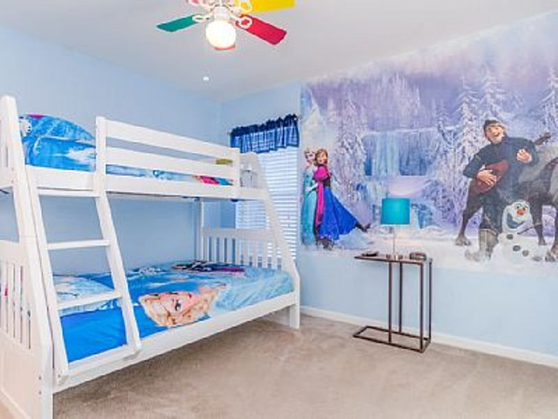 30 Examples Of Themed Girls Bedroom Decorations Frozen Frozen Inspired Bedroom Girl Bedroom Decor Girls Bedroom Examples of children's bedroom decorations
