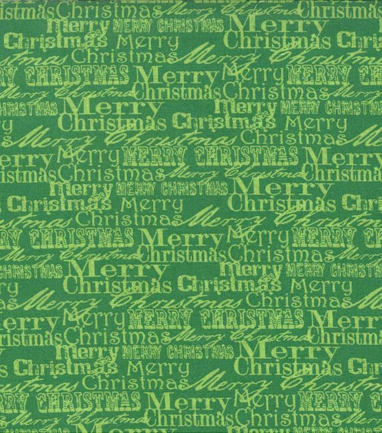 Noel Collection-Christmas Noel Merry Christmas Words Green