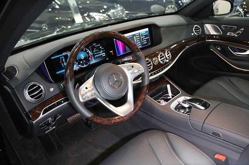 Ghim Tren Mercedes S Class