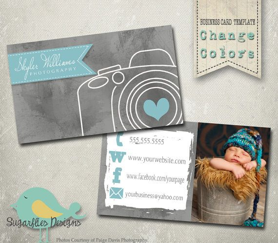 Photography business card templates business card 20 camera photography business card templates business by sugarfliesdesigns 800 cheaphphosting Images