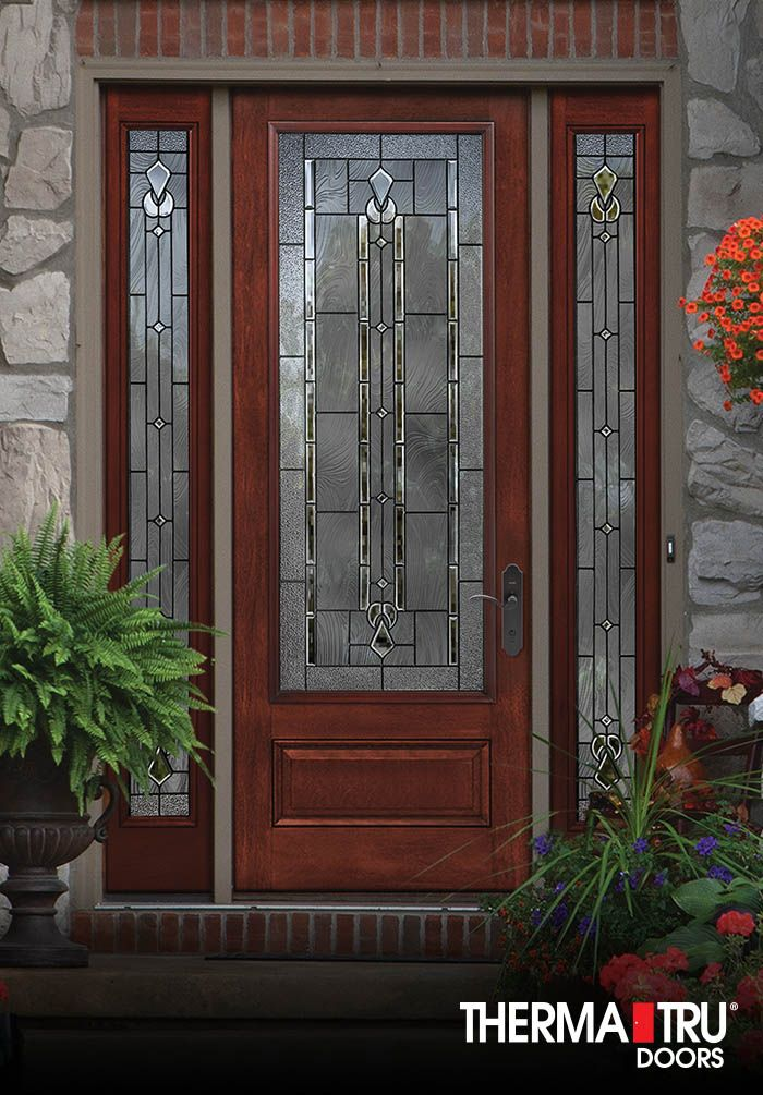 8 39 0 therma tru classic craft mahogany collection for Therma tru entry doors