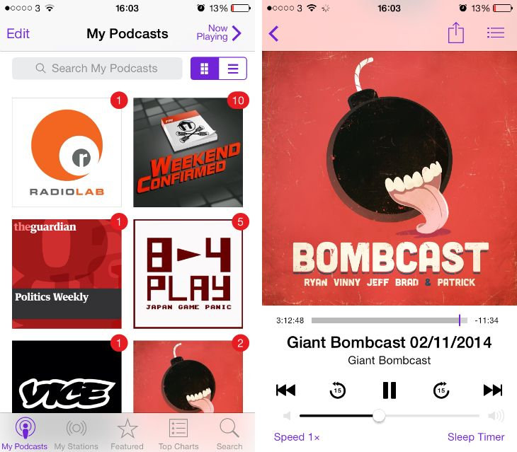 9 of the Best Podcast Apps for the iPhone and iPad App