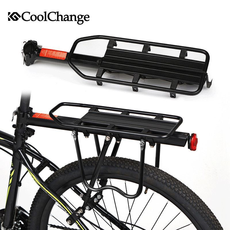 CoolChange Bicycle accessories Mountain bike rack bicycle rack luggage rack  can load 716fa2210dc72