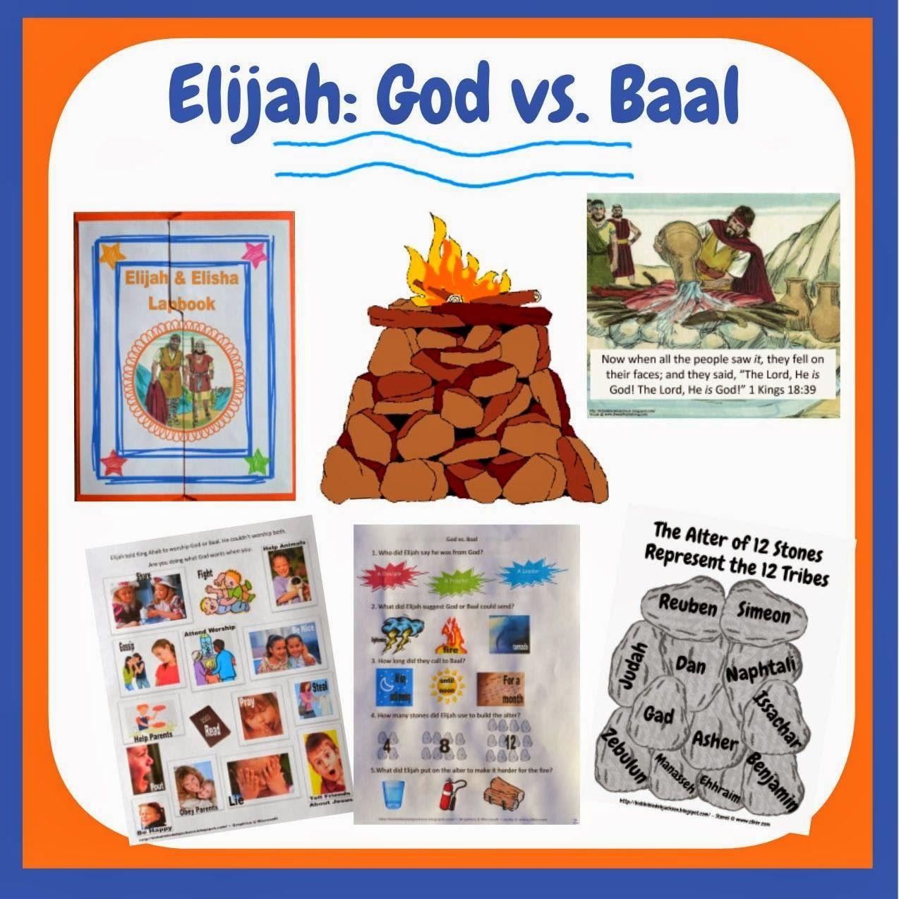 Elijah God Vs Baal
