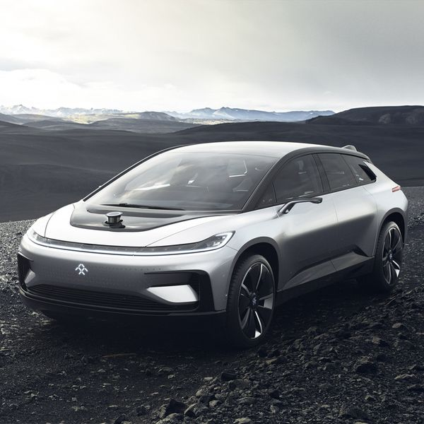 Faraday Future Presents The Ff 91 Faraday Future Future Electric Cars Electric Crossover