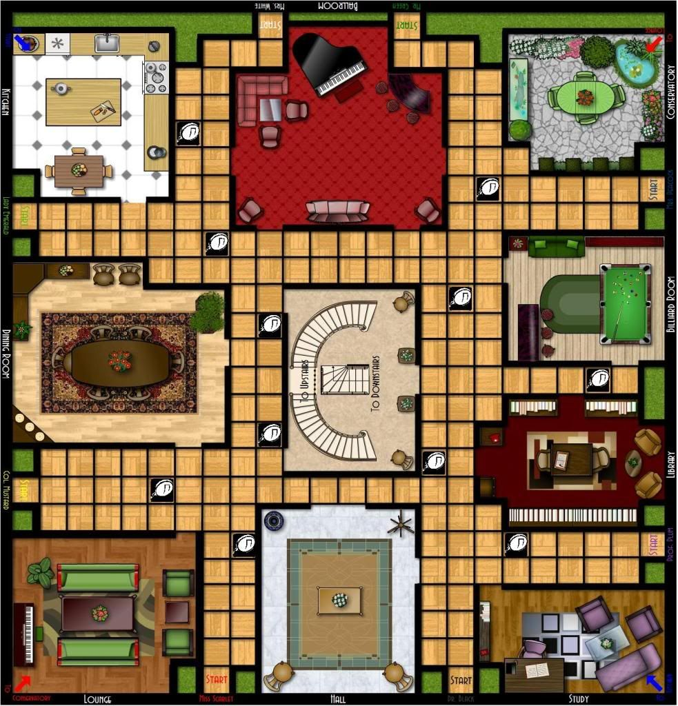 Punchy image with clue game board printable