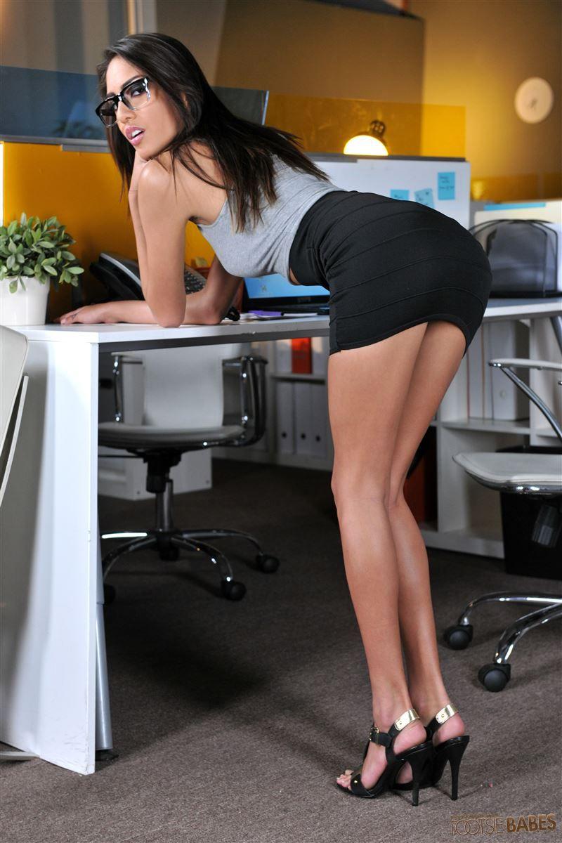 Short office hard core