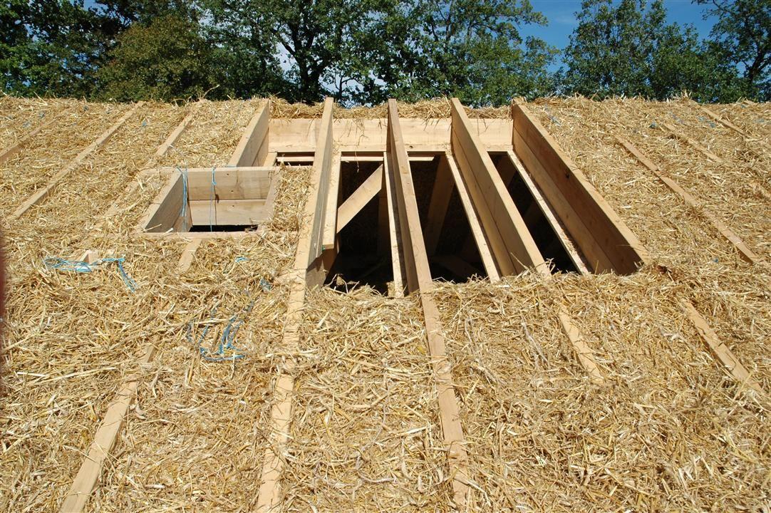 isolation toiture en paille cardak