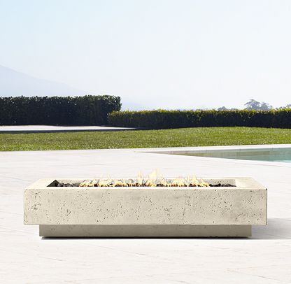 Ixtapa Fire Table Collection | RH | Fire table, Gas fire ...