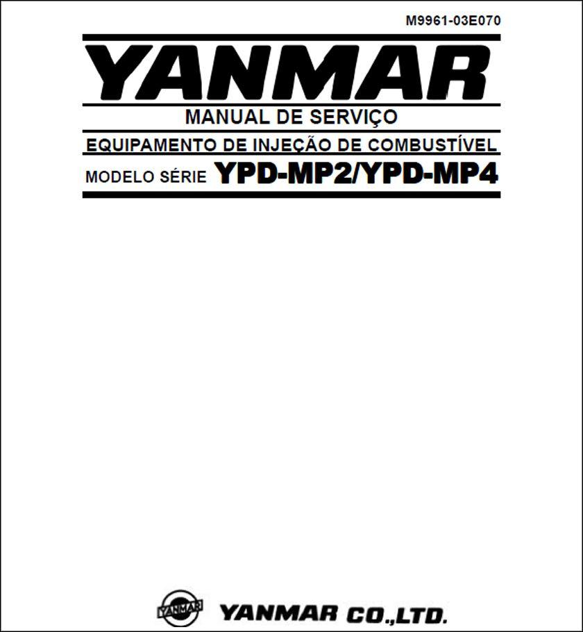 Yanmar Ypd Mp2 And Mp4 Service Manual Download Repair And Maintenance Manual Yanmar Tractor