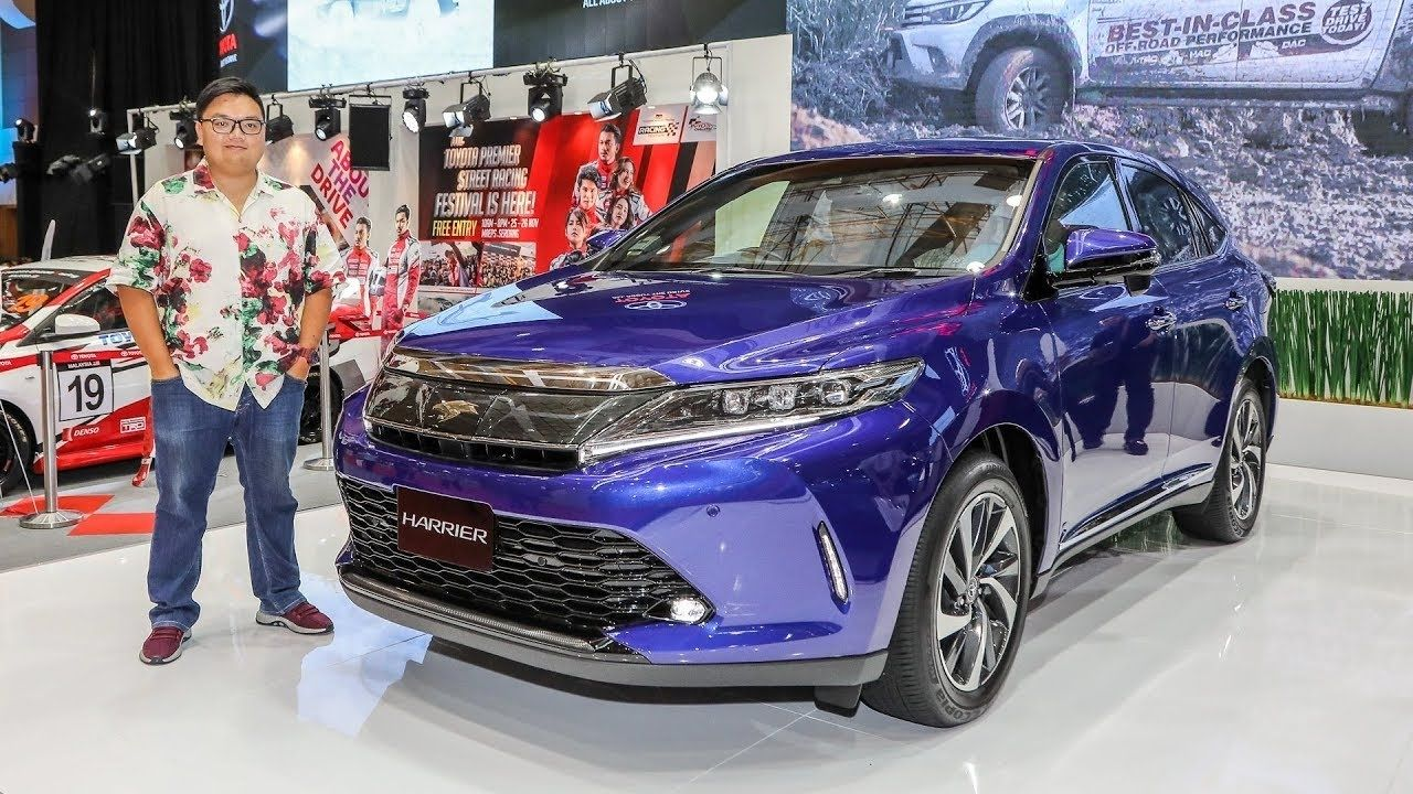 2020 Toyota Harrier Review, Price, Release Date, Exterior