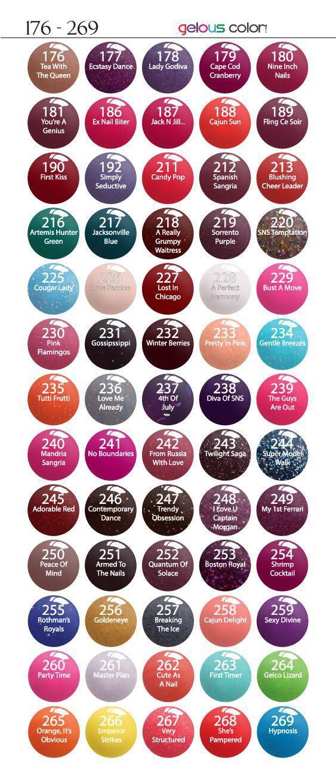 181 212 245 250 Sns Nails Colors Sns Nails Nail Dipping
