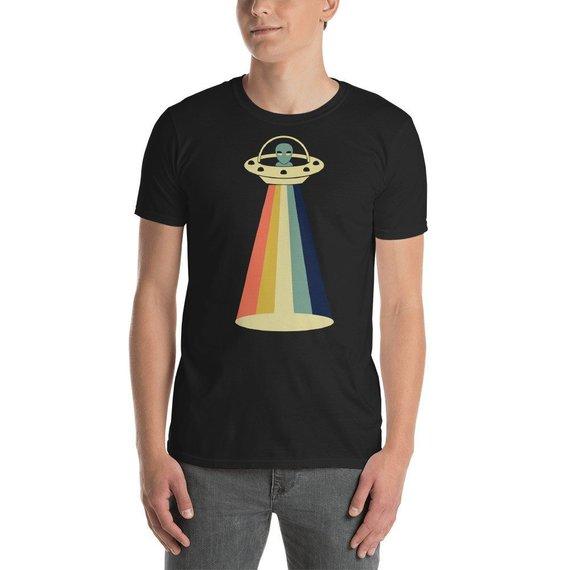 b4bac7e1e3 Vintage Extraterrestrial UFO T-Shirt, Alien Tee, Alien Tshirt, Ufo Shirt,  Ufo T Shirt