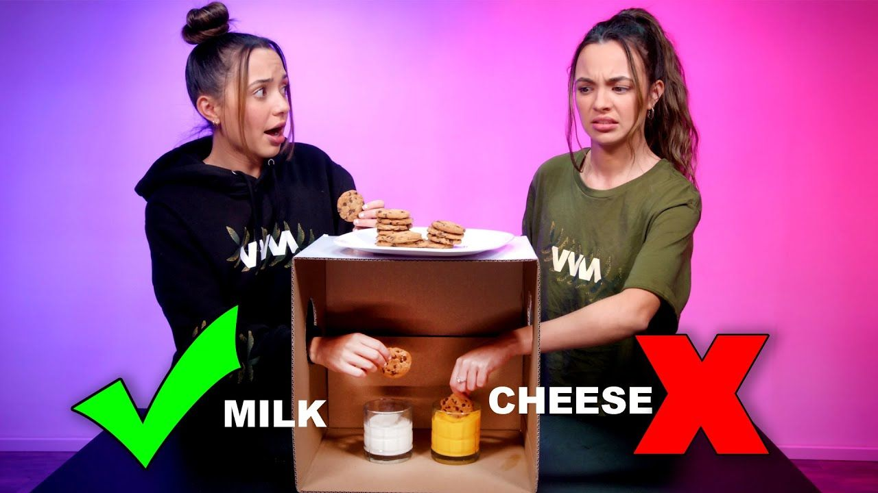 Cookie Roulette Don T Choose The Wrong Mystery Cup Merrell Twins Merrell Twins Twins Roulette