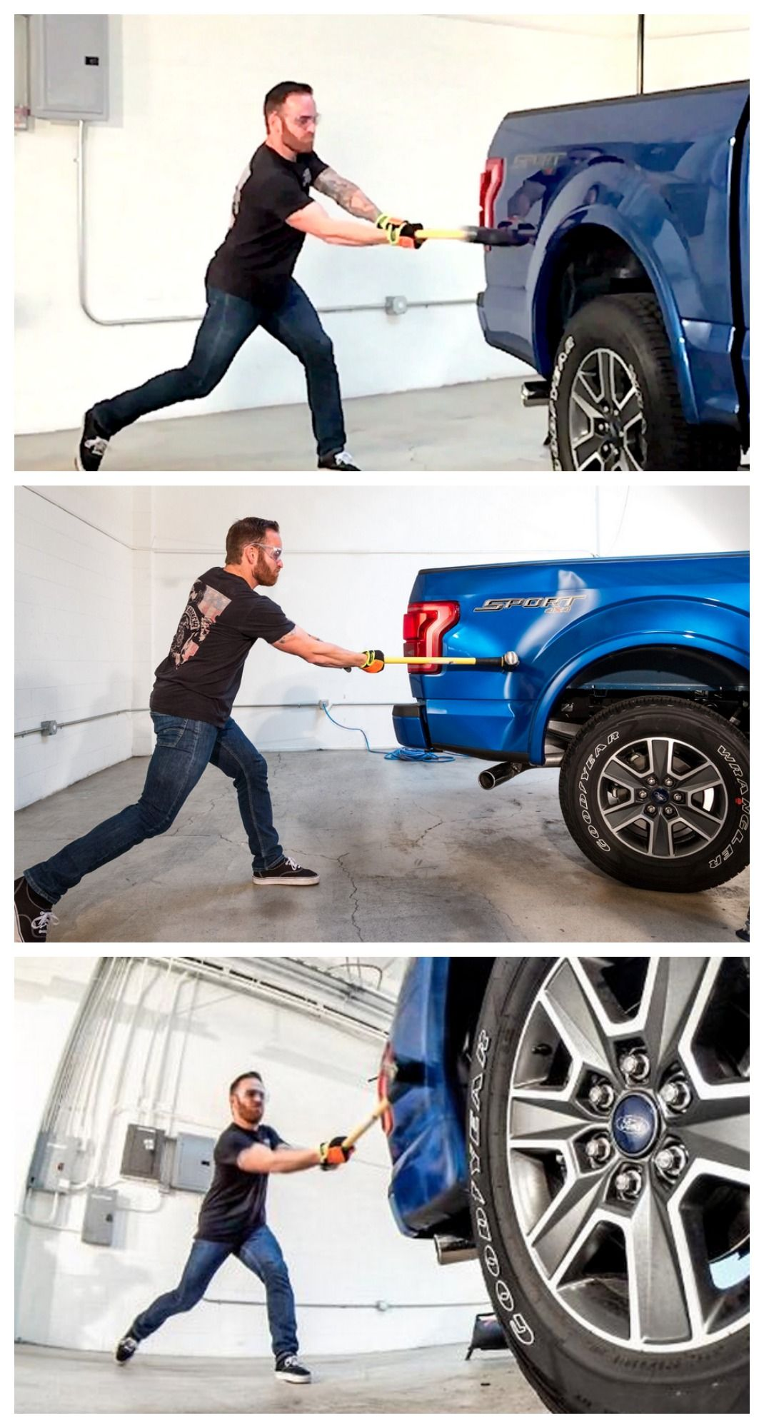 How Does The Ford F-150's New Aluminium Body Handle Being ...